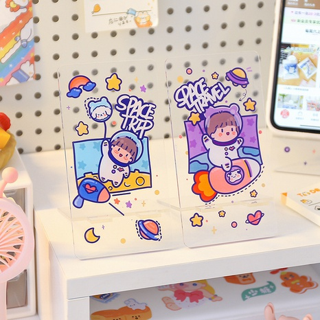 cute cartoon transparent mobile phone holder  NHZE369658's discount tags