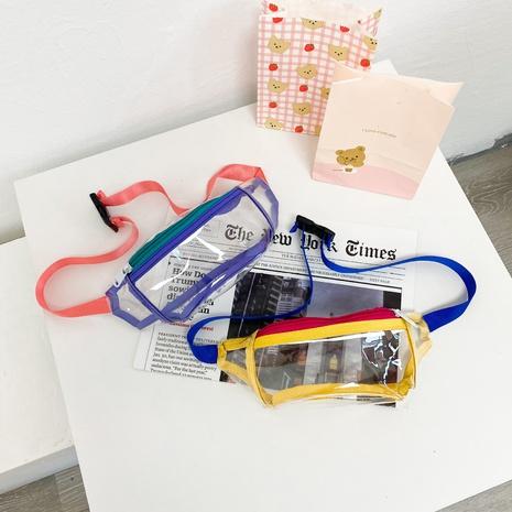nueva riñonera transparente para niños messenger pvc NHTG369775's discount tags