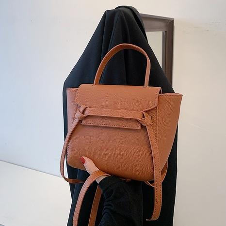 Fashion solid color catfish diagonal bag  NHTG369863's discount tags