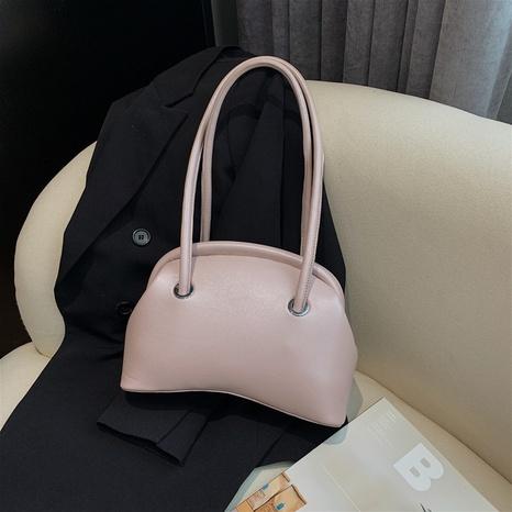 fashion solid color armpit handbag  NHJZ369868's discount tags