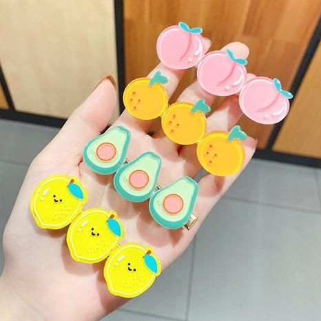 Korean style Children's cute fruit hair clip  NHNA363396's discount tags