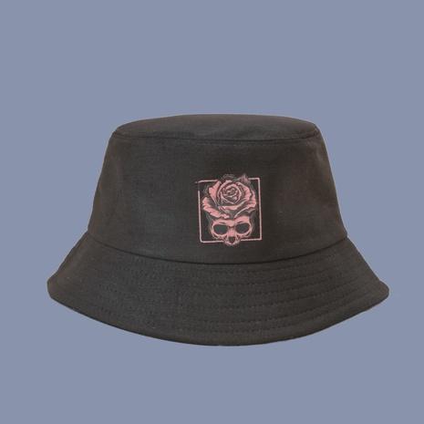 Koreanischer Stil Mode Rose Blume breitkrempiger Fischerhut NHTQ360267's discount tags