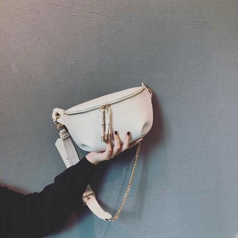 bolso de cintura de mensajero simple de moda de moda NHASB360300's discount tags