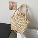 Summer fashion drawstrings woven handbag  NHJZ360587