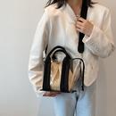 Korean personality woven small shoulder handbag  NHJZ360638
