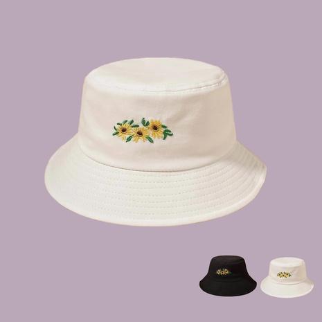 Koreanischer Stil Mode Stickerei Blumen Fischerhut NHAMD360651's discount tags