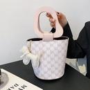 retro printing oneshoulder handbag wholesale  NHTG360829