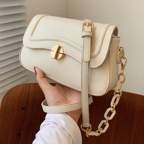 Petit sac carré à clapet à chaîne acrylique de mode coréenne NHTG360858's discount tags