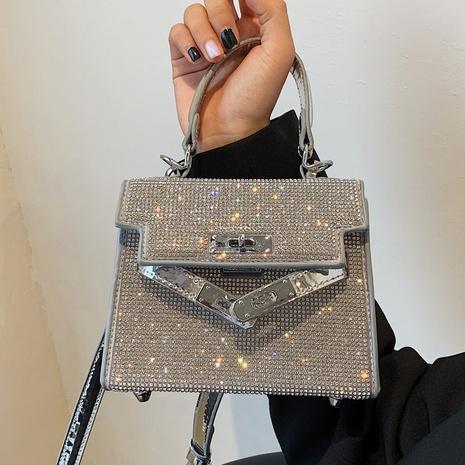 sacs à main de messager de serrure de diamant lumineux de mode NHTG360860's discount tags