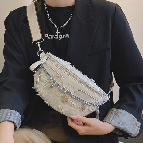 Fashion wide shoulder strap waist bag  NHTG360902's discount tags