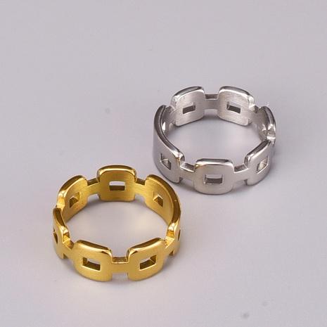fashion irregular chain titanium steel ring  NHAB370061's discount tags