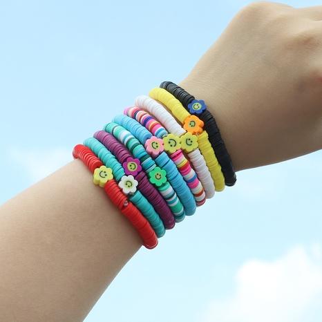 Ethnic Style Creative Handmade Colorful Soft Pottery Fruit Bracelet Bracelet  NHJQ370593's discount tags
