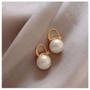 retro round pearl earrings wholesale NHHER370747