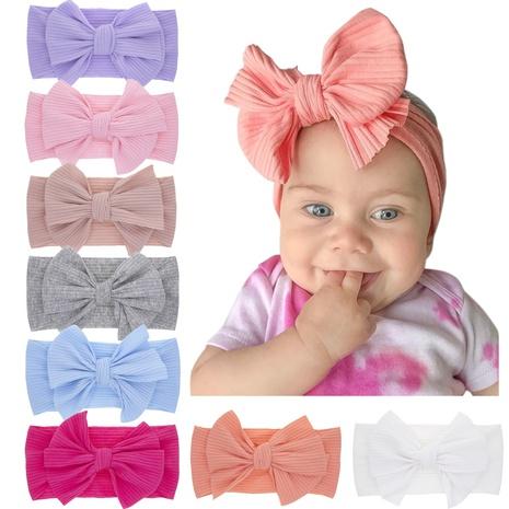 Bandeau élastique pour enfants avec noeud à la mode 8 couleurs NHWO371067's discount tags
