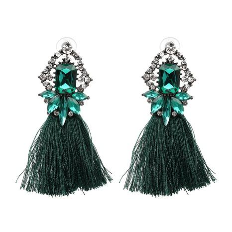 fashion retro glass tassel earrings  NHJJ371528's discount tags