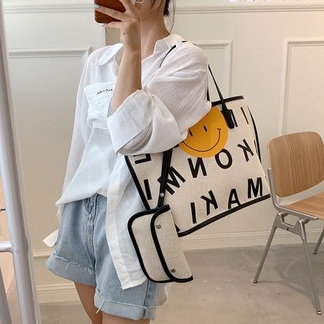 Einfache Graffiti-Handtasche mit großem Fassungsvermögen NHWH371566's discount tags