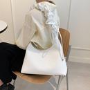 Korean candy color fold soft shoulder bag NHJZ371578
