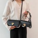 fashion heart botton square messenger bag NHJZ371617