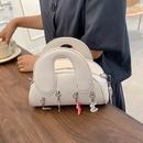 Fashion Candy Color Crystal Digital Macarons Hand Bag  NHLH371658