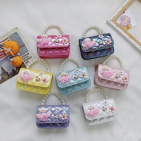 Modische Perlenhandtasche für Kinder NHAV371676's discount tags