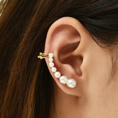 Großhandel Schmuck Koreanische Perlenohrringe Nihaojewelry NHAJ374890's discount tags