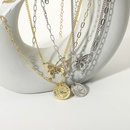 Fashion Pearl Diamond Butterfly Pendant Multilayer Necklace NHJIE372395