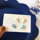 Cute Wing Hollow Paint Earrings  NHBY372609