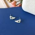 NHBY1724771-Pair-of-S925-Silver-Needle-White-Stud-Earrings