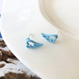 NHBY1724772-A-pair-of-S925-silver-needle-blue-stud-earrings