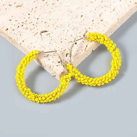Fashion retro simple rice bead earrings  NHJE372979's discount tags