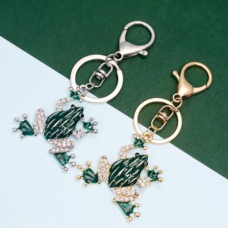 Porte-clés grenouille en diamant NHAP373373's discount tags