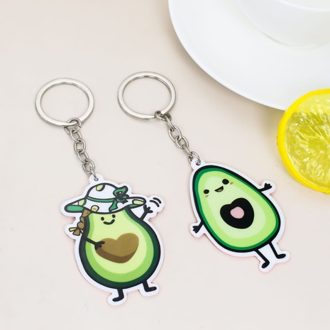 Porte-clés en feuille acrylique NHAP373374's discount tags