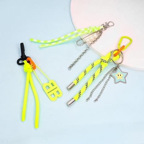 Schlüsselanhänger mit fluoreszierender Schnur NHAP373388's discount tags