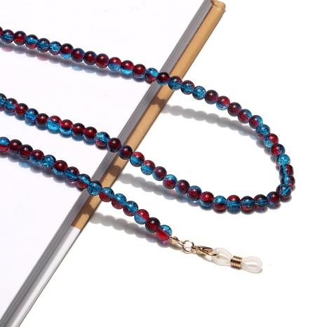 Mode farbige Perlen handgemachte Brillenkette Großhandel NHBC373542's discount tags