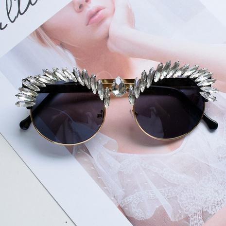 lunettes de soleil de décoration en cristal de diamant d'oeil de chat de mode NHNT373570's discount tags