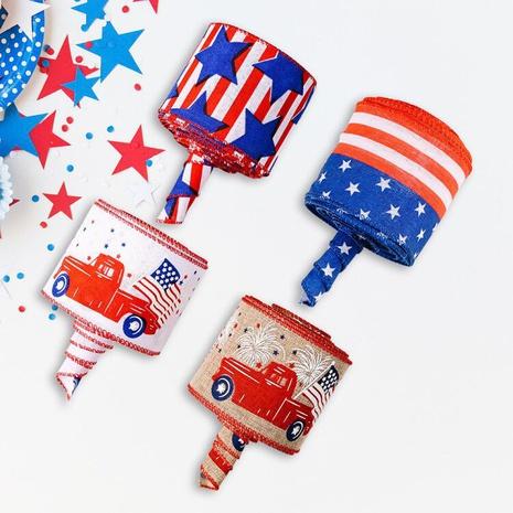 Décoration de ruban d'impression de voiture de couleur de jour de l'indépendance américaine de mode NHHB373588's discount tags