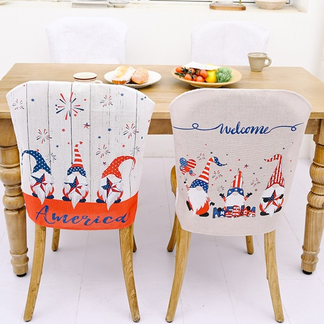 Housse de chaise Fashion American Independence Day NHHB373591's discount tags
