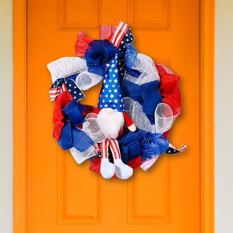 Fashion American Independence Day Rudolph Garland Ornamente NHHB373592's discount tags