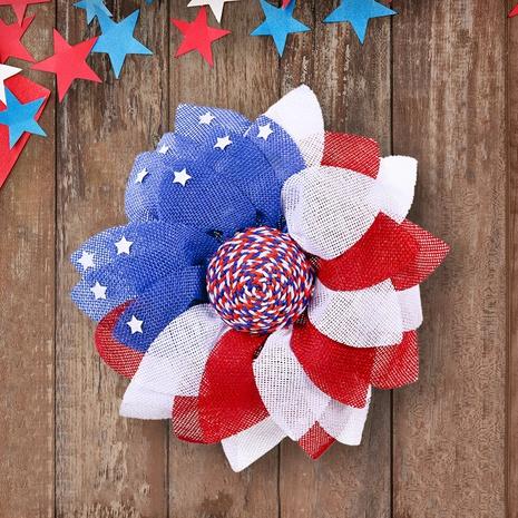 Décorations de guirlande de jour de l'indépendance américaine à la mode NHHB373595's discount tags