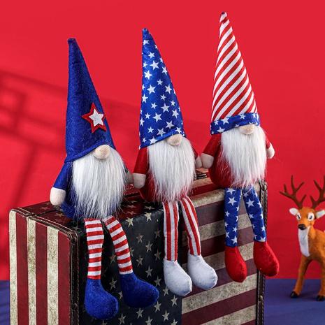 Poupée de jambe suspendue à chapeau pointu de la fête de l'indépendance de la mode NHHB373599's discount tags