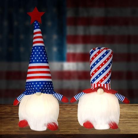 Poupée lumineuse sans visage pour le jour de l'indépendance des États-Unis NHHB373600's discount tags