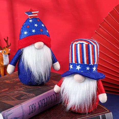 Poupée de vieil homme de chapeau de jour de l'indépendance de la mode NHHB373603's discount tags