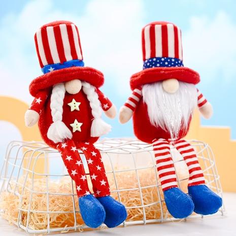 Poupée Rudolph étoile à longues jambes chapeau rond à la mode NHHB373604's discount tags
