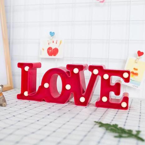 Lampe LED LOVE lettre lumineuse à la mode NHAH373615's discount tags