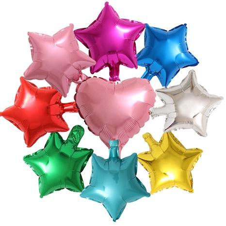 Ballon en papier d'aluminium étoile à cinq branches pour fête d'anniversaire à la mode NHAH373616's discount tags