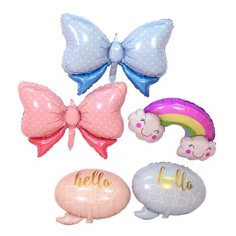 Fashion Large Bowknot Folienballon Dekoration NHAH373618's discount tags