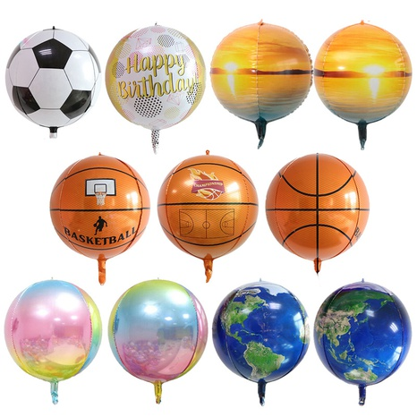 Mode Gradient Fußball 4D Ballondekoration NHAH373619's discount tags