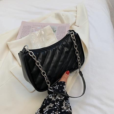 Korean fashion solid color messenger bag wholesale NHXC373742's discount tags