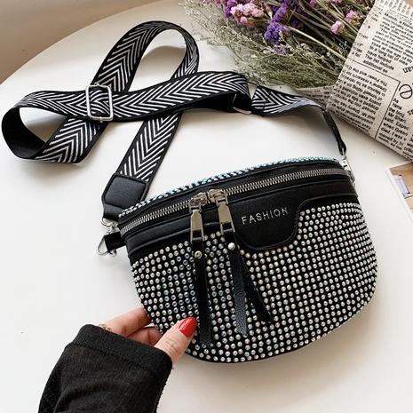 bolso de la cintura del mensajero del diamante brillante de la moda al por mayor NHLH373766's discount tags