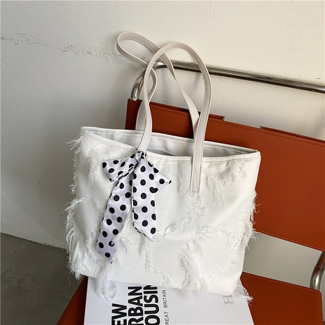 fashion casual simple large-capacity shoulder tote bag wholesale NHRU373917's discount tags